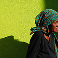 Lady In Green by Skip Hunt