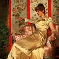 Lady Reading by Joseph Frederick Charles Soulacroix