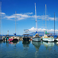 Lahaina In Blue by Ron Dahlquist - Printscapes