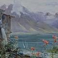 Lake Geneva by John William Inchbold