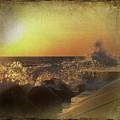 Lake Michigan Sunset by Maria Dryfhout
