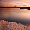Lake Powell Dawn by Mike  Dawson