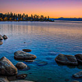 Lake Tahoe State Park Fall Sunset by Scott McGuire