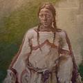Lakota Woman by Ellen Dreibelbis