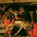 Lamentation Of Christ by Sandro Botticelli