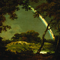 Landscape With A Rainbow by Joseph Wright of Derby