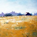 Landscape With Barn by RB McGrath