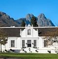 Lanzerac Stellenbosch by Heather Nel