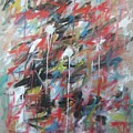 Large Abstract No 4 by Michael Henderson