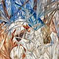 Larionov: Glass, 1912 by Granger