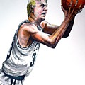 Larry Bird by Dave Olsen