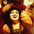 Laughing Gypsy by Deborah MacQuarrie-Haig
