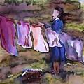 Laundry Day by Carolyn Doe