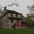 Layfayette's Headquarters At Brandywine by Gordon Beck