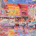 Le Port De St Tropez by Peter Graham