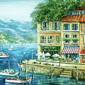 Le Port by Marilyn Dunlap
