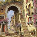 Le Scale E Un Arco by Guido Borelli