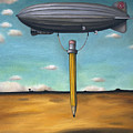 Lead Zeppelin by Leah Saulnier The Painting Maniac