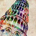 Leaning Tower Of Pisa by Michael Tompsett