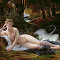 Leda And The Swan by Francois Edouard Picot