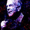 Leonard Cohen by Tammera Malicki-Wong