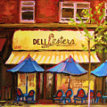 Lesters Cafe by Carole Spandau