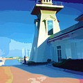 Lighthouse by Deborah MacQuarrie-Haig