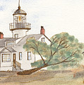 Lighthouse Sketch by Ken Powers