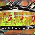 Lil Funky Folk Fish Number Twelve by Robert Wolverton Jr