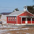 Lil Red School House by Robert Sander