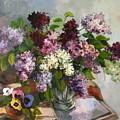 Lilacs And Pansies by Tigran Ghulyan