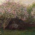 Lilacs by Claude Monet