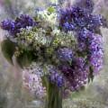 Lilacs Of Love by Carol Cavalaris