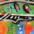 Lil'funky Folk Fish Number Fifteen by Robert Wolverton Jr
