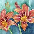 Lilies by Eleonora Perlic
