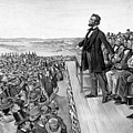 Lincoln Delivering The Gettysburg Address by War Is Hell Store