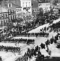 Lincolns Funeral Procession, 1865 by Photo Researchers, Inc.
