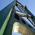 Lions Gate Bridge  by Joseph G Holland