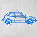 Little Car by Naxart Studio