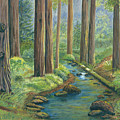 Little Stream In The Woods by Vidyut Singhal