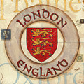London Coat Of Arms by Debbie DeWitt