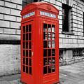 London Phone Booth by Rhianna Wurman