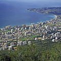Looking Over Jounieh Bay From Harissa by Sami Sarkis
