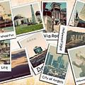 Los Angeles Polaroid Collage by Ricky Barnard