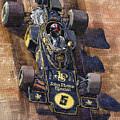 Lotus 72 Canadian Gp 1972 Emerson Fittipaldi  by Yuriy  Shevchuk