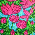 Lotus Bliss by Lisa  Lorenz