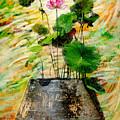 Lotus Tree In Big Jar by Atiketta Sangasaeng