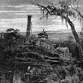Louisiana: Steamboat Wreck by Granger