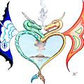 Love Dragons by Robert Ball