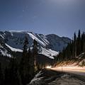 Loveland Pass Night by Michael J Bauer